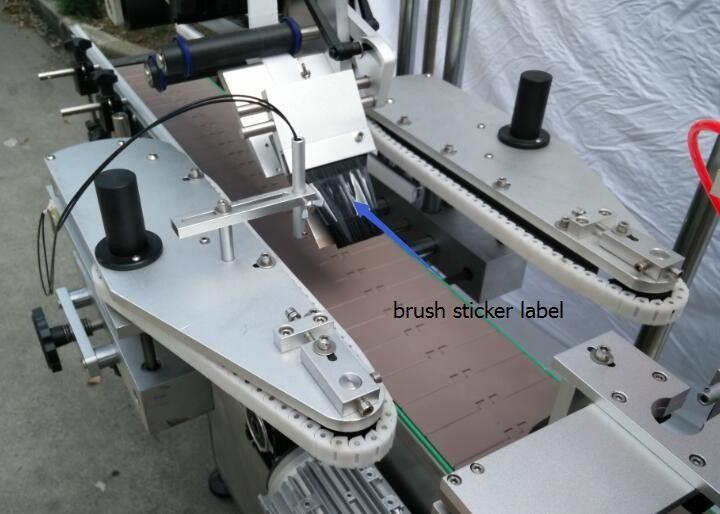 Etiquetadora redonda automática de la etiqueta engomada de la botella para el motor del rayo de la botella de cerveza