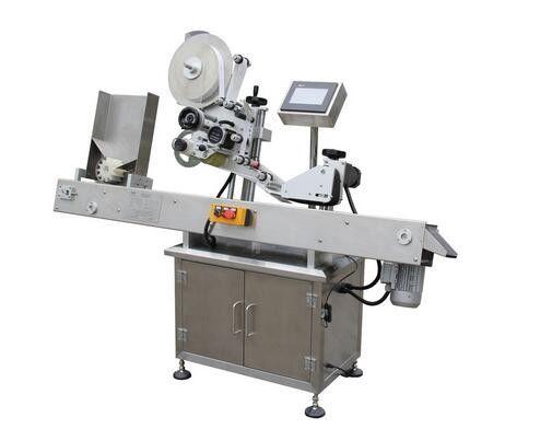 Máquina etiquetadora de etiquetas adhesivas de viales de bolígrafo horizontal