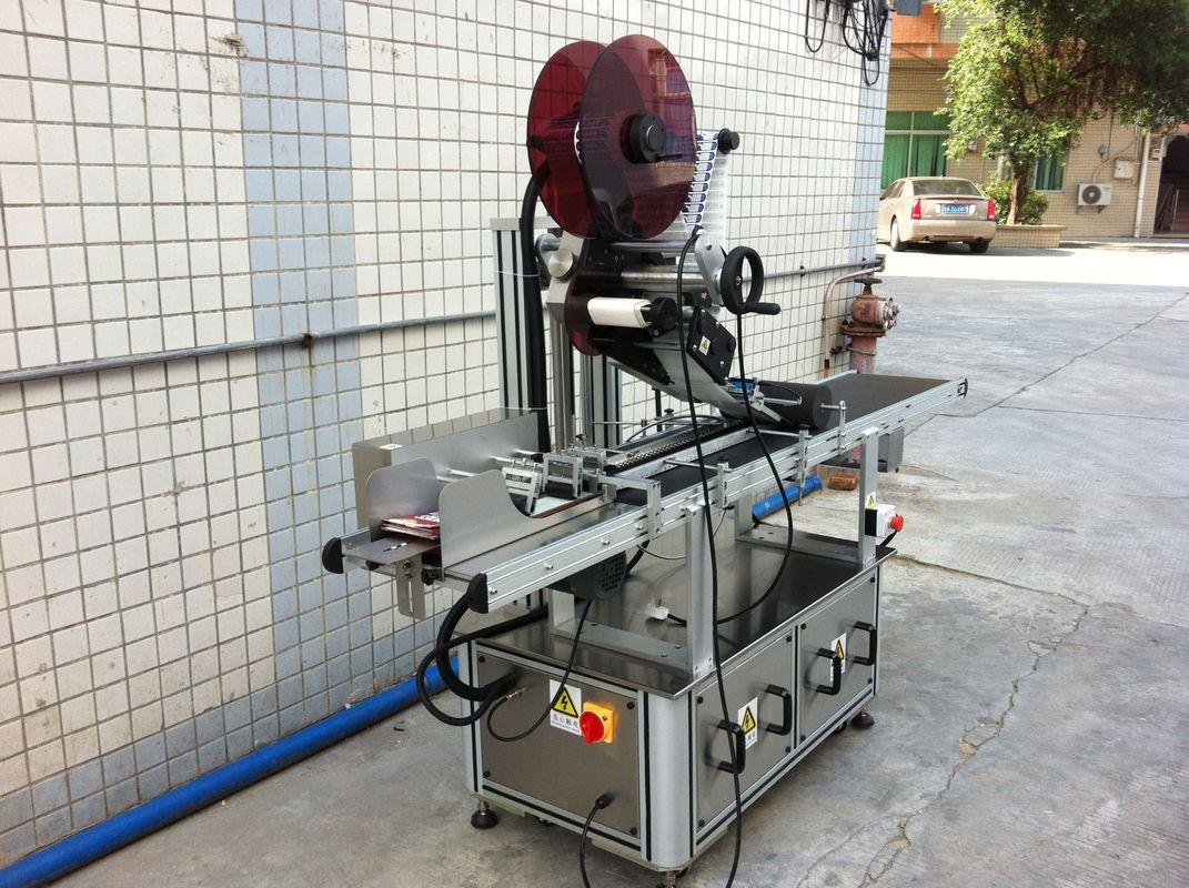 Máquina de etiquetado superior de accionamiento eléctrico, Máquina de etiquetado autoadhesiva