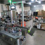 Aplicador de etiquetas de superficie plana para máquina etiquetadora superior automática