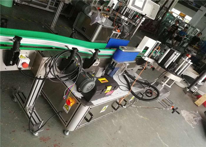 Aplicador de la etiqueta de la botella de cerveza, diámetro automático del rollo de la máquina 330m m de la etiquetadora