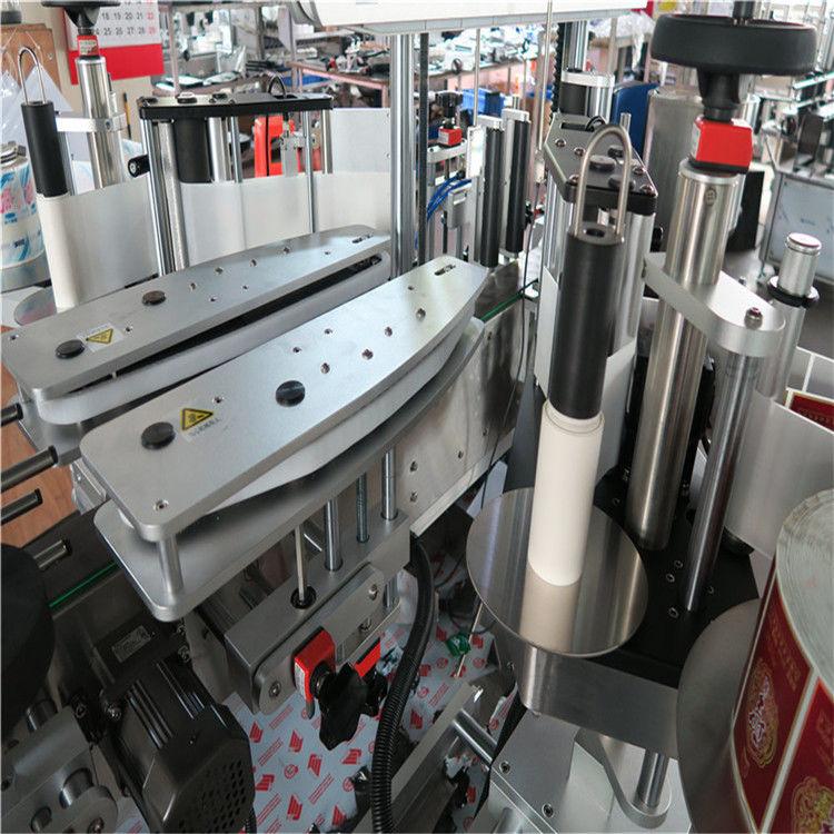 Máquina de etiquetado autoadhesiva completamente automática de doble cara