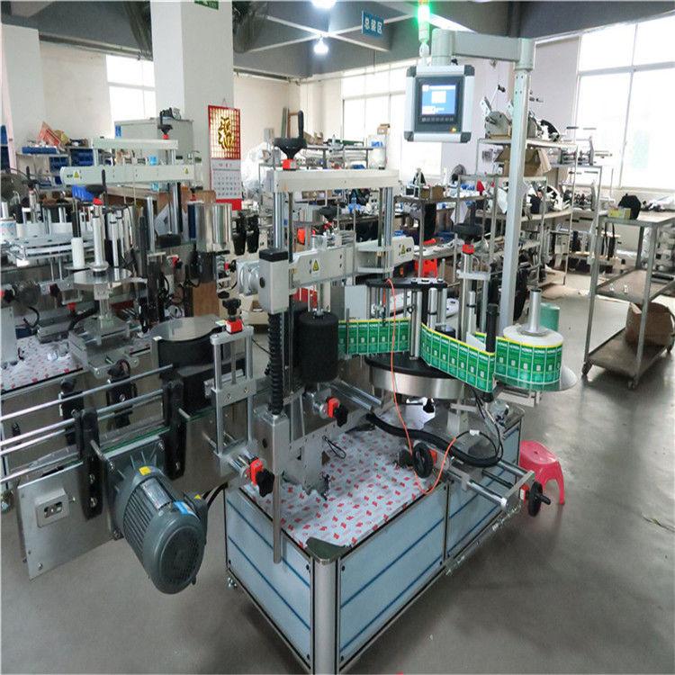 Aplicador automático de etiquetas adhesivas Máquina etiquetadora de botellas cuadradas