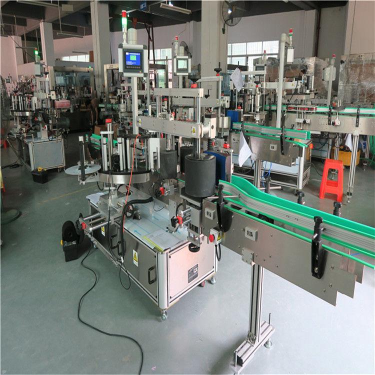 Máquina de etiquetado de botellas redondas para mascotas de China, proveedor automático de etiquetadoras autoadhesivas de la máquina aplicadora de etiquetas