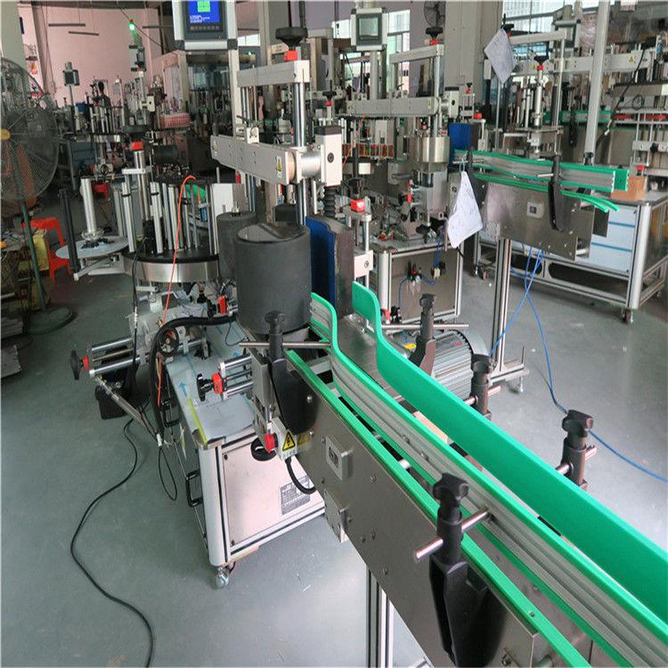Máquina de etiquetado de botellas autoadhesivas de doble cara 190 mm de altura máxima