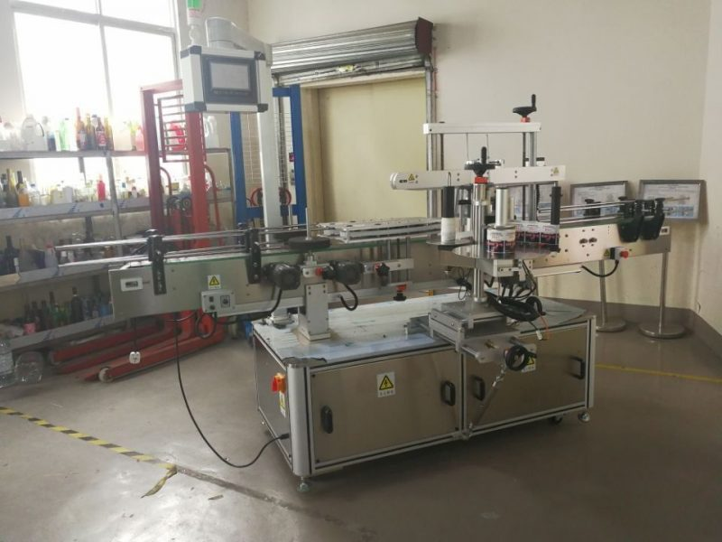 Máquina de etiquetado de botellas cuadradas automática completa de China envolvente para proveedor 3000-5000B / H