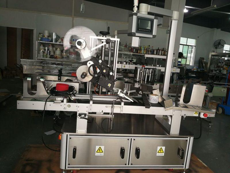 Máquina de etiquetado superior de paginación de China para bolsa de plástico / proveedor de bolsa de cartón / máscara sin extender