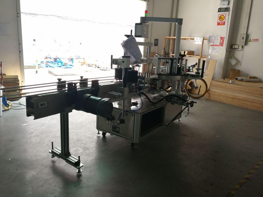 Máquina de etiquetado sensible a la presión de botella plana por un lado o dos lados