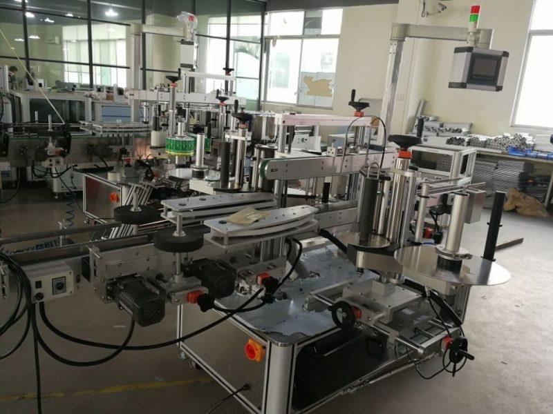 Proveedor de sistema de etiquetado de doble esquina de alta velocidad de China para cajas de cartón farmacéuticas