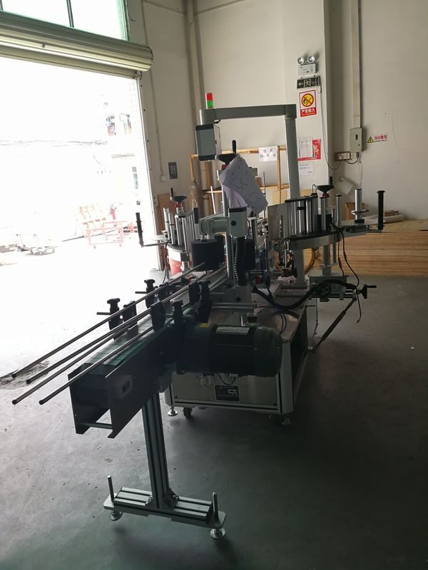China Etiqueta de la máquina de etiquetado frontal y posterior en el proveedor de botella ovalada / rectangular / cuadrada / redonda