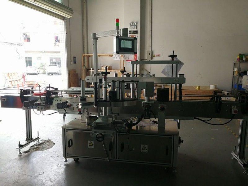 China Máquina de etiquetado de botellas cuadradas de dos lados Proveedor de alta precisión 50HZ