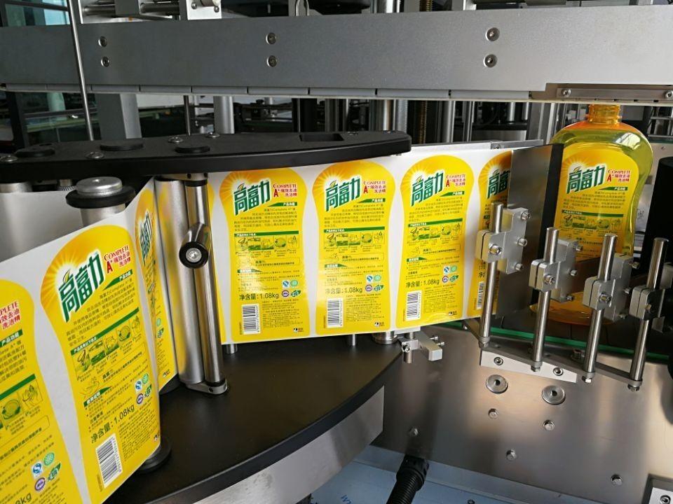Máquina de etiquetado de etiquetas completamente automática