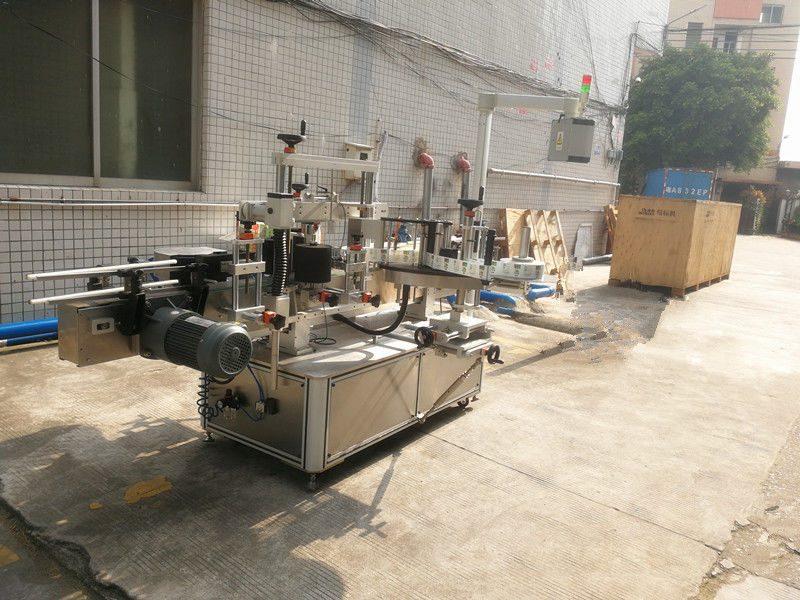 China máquina de etiquetado de botellas cuadradas, máquina de etiquetado autoadhesiva para frascos hexagonales y cuadrados proveedor