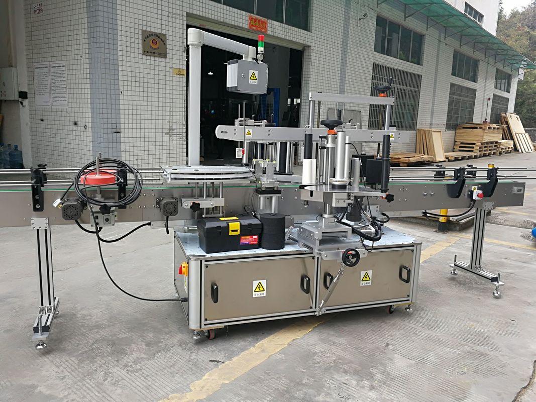 Máquina automática 220V 50HZ 1200W del etiquetado de la etiqueta engomada del lacre de la esquina del cartón
